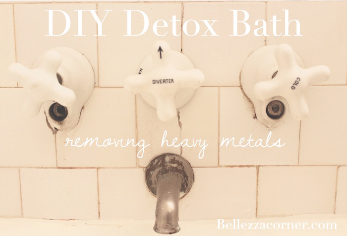 DIY Detox Bath – Removing Heavy Metals