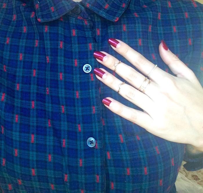 Mastering The Half Moon Manicure