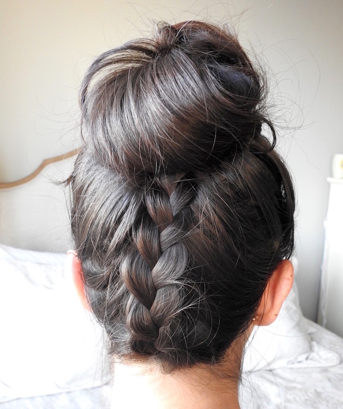Braid Backed Bun