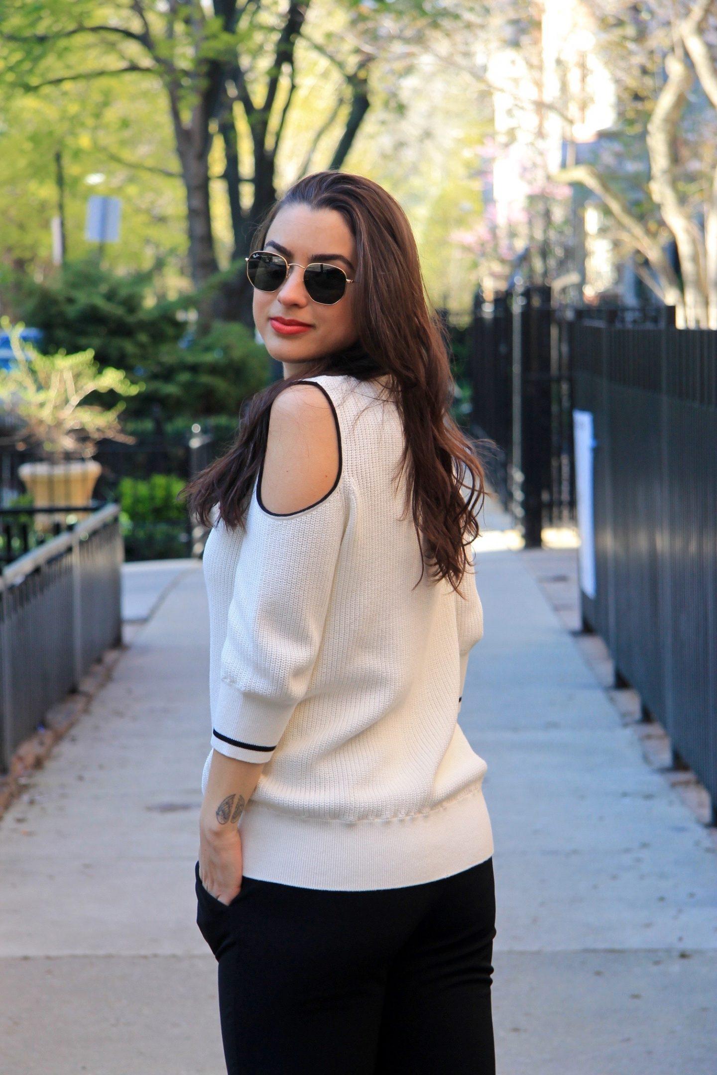 The Bellezza Corner Bianco e Nero Fashion Post