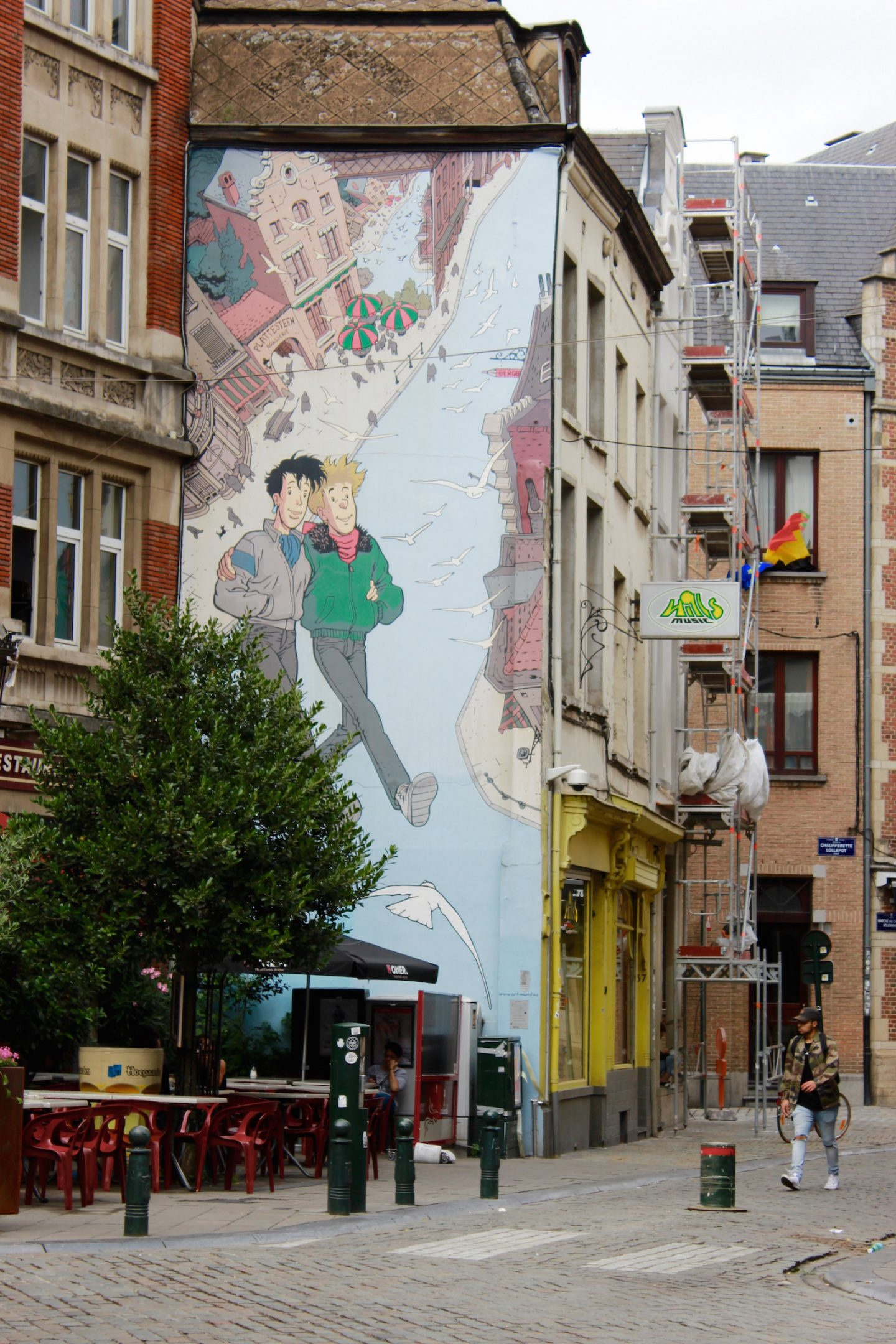 Bellezza Corner Brussels Comic