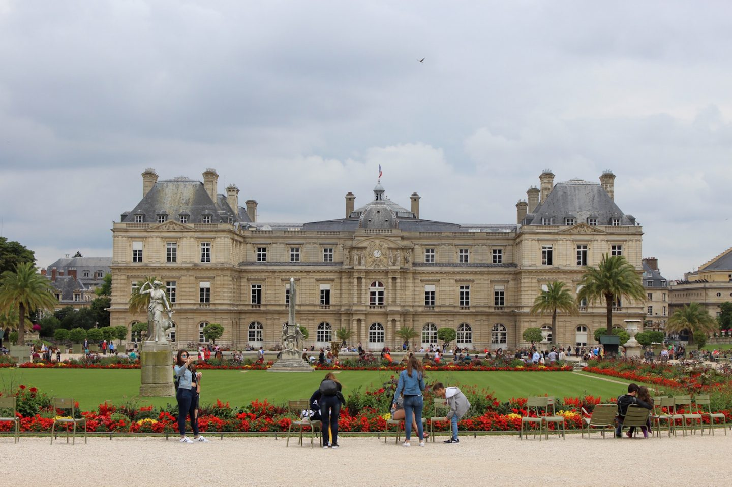 The Bellezza Corner Jardin Du Luxembourg