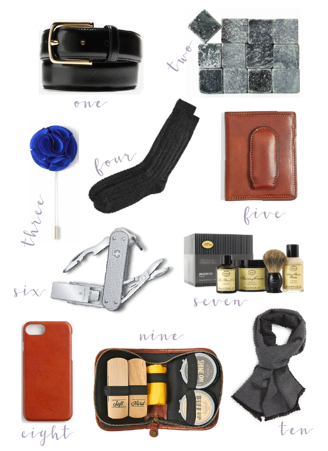 The Bellezza Corner Holiday Gift Guide For Him