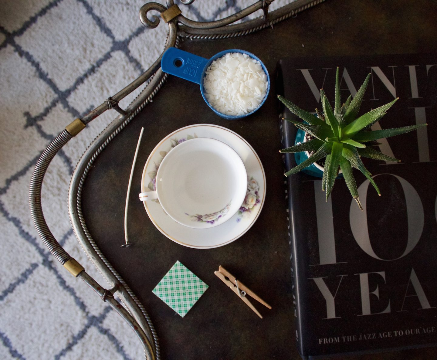 The Bellezza Corner DIY :: How To Make A Teacup Candle
