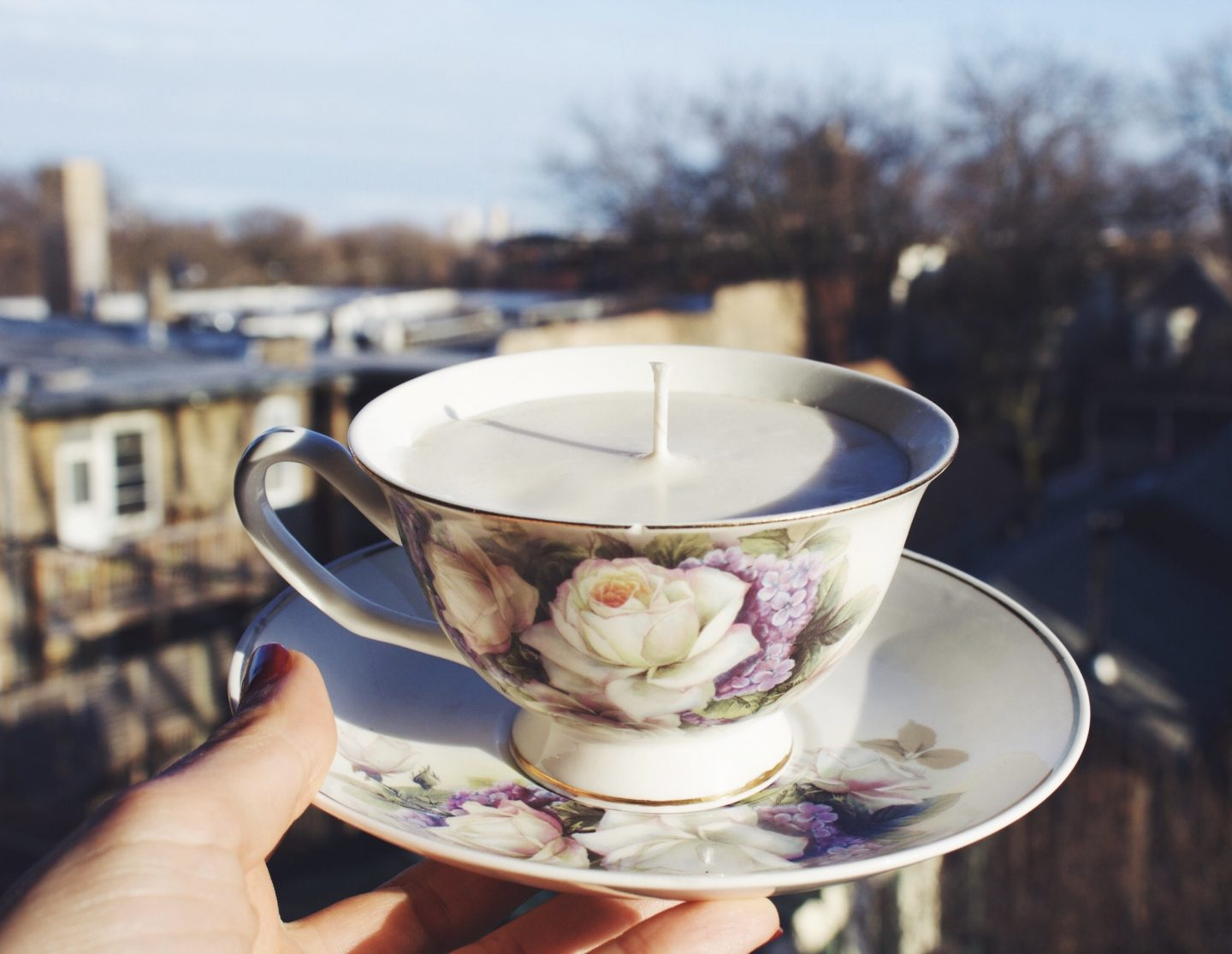 DIY :: How To Make Teacup Candles